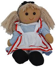Alice Wonderland Muñeca Grande 40 cm Powell Craft Muñeca de trapo Regalo Coleccionable