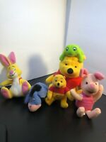 Lot Of 4McDonalds Disney Happy Meals Toys 1 Fisher Price Plush Winnie The Pooh