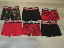 Under Armour Boys Boxerjock Boxer Brief XS ~~LOT OF 8 PAIRS~~