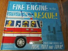 FIRE ENGINE TO THE RESCUE INTERACTIVE HARDBACK BOOK