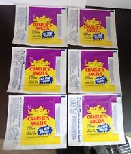 6-Topps CHARLIES ANGELS 1977 Wax Pack Wrappers No Cards Wrappers Only