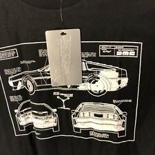 The Hundreds Back to the Future Sz Large L Delorean Dmc Marty McFly T-shirt Nwt