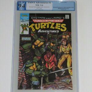 Teenage Mutant Ninja Turtles 1 9.4 Archie 1988 NM 1st App Bebop Rocksteady Krang