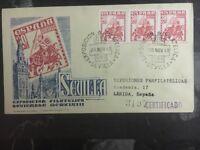 1948 Sevilla Spain Philatelic Expo Commemorative First Day Cover FDC