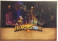 ShipsFLAT Blizzcon poster 2016 Hearthstone 14X20 Blizzard Warcraft Gadgetzan