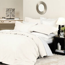 NEW Private Collection Supima Quilt Cover Set Queen Ivory