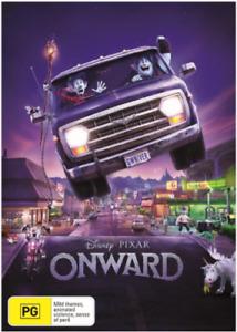 Pixar's ONWARD DVD 2020 NEW Region 4 Walt Disney Elf Magical Fantasy Animation