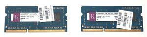 Kingston HP594907-HR1-ELFEU 2GB (1GBx2) PC3-10600S DDR3 So-Dimm Laptop Memory
