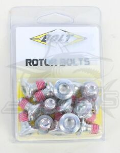 Bolt MC Rotor Bolts For Kawasaki KLR650 87-14 KLRTR650