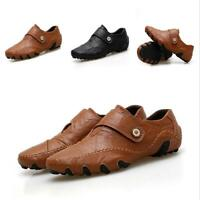 Fashion Men Leather Driving Moccasins Sports Shoes Casual Slip-on Flats Sneaker