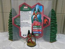 Heroscape Custom Annihilus Double Sided Card & Figure w/ Sleeve Marvel