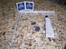 "Quick Corner Caddy TM Surface Mount Clear PlastIc Bracket Kit (8"" Shower Shelf)"