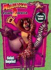 Madagascar 2 coloring book RARE UNUSED