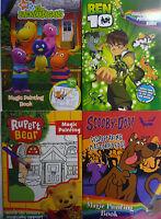Ben 10, Rupert, Scooby-Doo! Backyardigans Magic Painting Book - Just add Water!