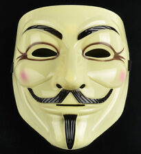 2pcs V for Vendetta Anonymous Guy Fawkes Mask DC Comics Official Rubie's License