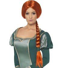Ladies Fiona from Shrek Fancy Dress Wig in Retail Box New by Smiffys