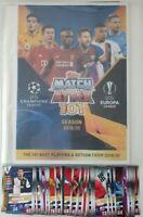 2020 Match Attax 101 Soccer Cards - 50 cards + FREE Folder Ronaldo Messi Mbappe