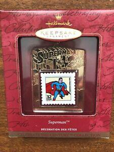 HALLMARK 1999 SUPERMAN COMMEMORATIVE POSTAGE STAMP ORNAMENT