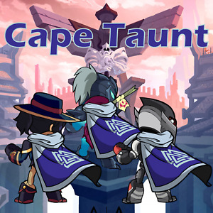 Brawlhalla Cape Taunt [All Platforms] [Fast Delivery]