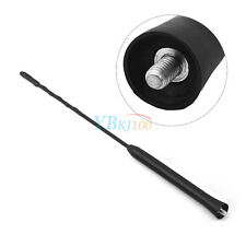 "11"" Car Vehicle Auto Antenna Aerial AM FM Radio Amplified Roof Whip Mast BD"
