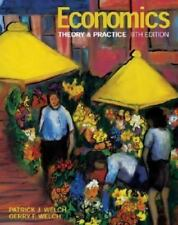 PAPERBACK ECONOMICS THEORY & PRACTICE 8TH EDITION TEXTBOOK/WELCH GOOD CONDITION