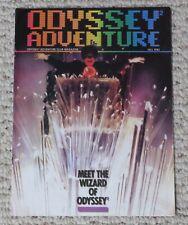 Original 1982 Odyssey Adventure Video Game Magazine Fall Issue #4 Wizard RARE