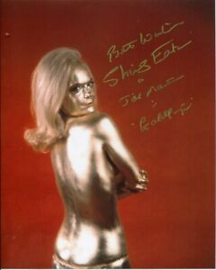 Shirley Eaton Photo Signed In Person - Jill in James Bonds Goldfinger - H792