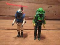 Vintage M.A.S.K. Kenner 1980s Two Figures