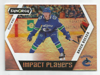 2017-18 UD Synergy Impact Players #IP9 Brock Boeser Vancouver Canucks