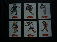 PASQUIER PITCH 2014  ~ Get Back on the Pitch Sticker Card Set of 6 (E19)