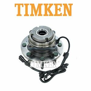 For Ford Excursion F-250 Super Duty 4WD Front Wheel Bearing & Hub Assy Timken