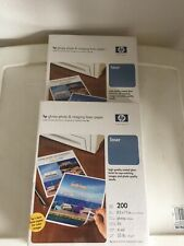 "Lot Of 2 HP Q6545A Glossy Photo Paper, Letter 8.5"" x 11"" - 200 SHEETS"