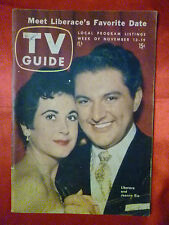Pittsburgh ed. November 13 1954 TV Guide LIBERACE Comic Strips come to life