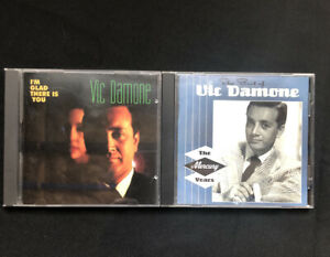 Vic Damone Collection Lot of 2 Audio CD's I'm Glad there is You & Best Of
