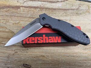 Kershaw Oso Sweet Linerlock A/O Gray SpeedSafe Folding Knife 1830GRYSW