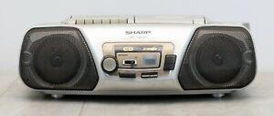 Sharp QT-CD111 H(S) CD Stereo System CD Radio Kassetten Recorder Boombox