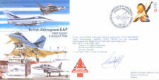 EJA 29 10th Anniversary First Flight British Aerospace EAP signed cover