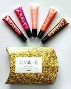 Avon Crave - Life is Sweet 5pc Lip Gloss Gift Set.