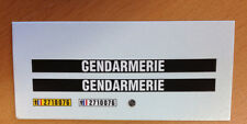 DECAL DECALCOMANIE 1/32 GENDARMERIE POUR MATRA DJET OU AUTRE PROTO SLOT KIT