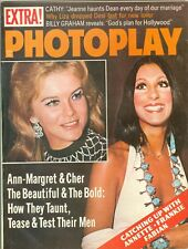 Ann Margret Cher cover Photoplay magazine Aug 1973 lucille ball frankie avalon