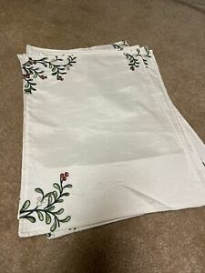 Set Of 6 Christmas Placemats