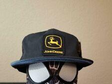 Vintage John Deere hat Tractor Snapback Baseball Cap Flatbill NWT NOS