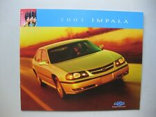 Chevrolet Impala prestige brochure Prospekt English text 24 pages 2001 Canada