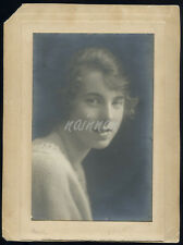 Real Photo - Studio Portrait of YOUNG LADY - by CLAUDE HARRIS, Regent St. London