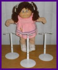 3 White Kaiser 2701 Doll Stands for CABBAGE PATCH KIDS
