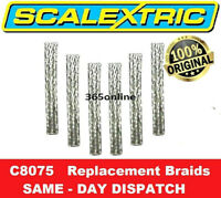 SCALEXTRIC Replacement Braids - Pack of 6 C8075