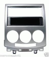 Mascherina con foro ISO/Doppio Din colore grigio Mazda 5