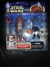 Star Wars AOTC Clone Trooper With Speeder Bike
