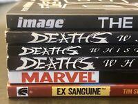 HORROR TPB LOT The Walking Dead Half Dead Image Marvel Comics graphic novels