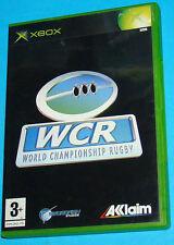 WCR World Championship Rugby - Microsoft XBOX - PAL